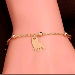 Dainty Foot Bracelet or Anklet Chain